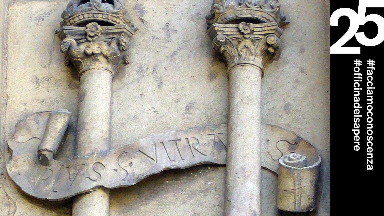 Le colonne d'Ercole con il motto Plus ultra